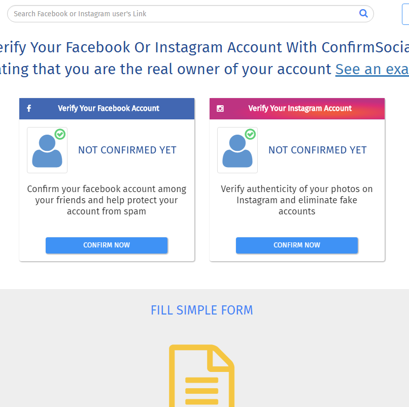 Confirm Social