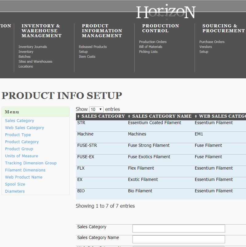 admin.essentiummaterials.com – production process automation.